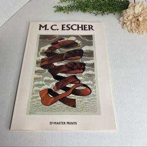 M.C. Escher 29 Master Prints Big Vintage 1983 Book